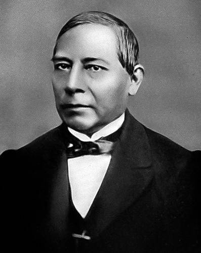 Portrait of Benito Juarez who started Mexico's Civil Registration Records