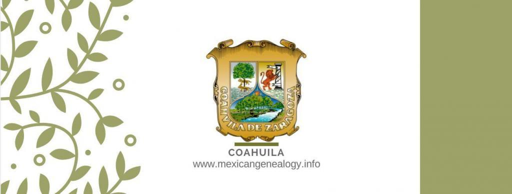 Genealogy Resources for Coahuila