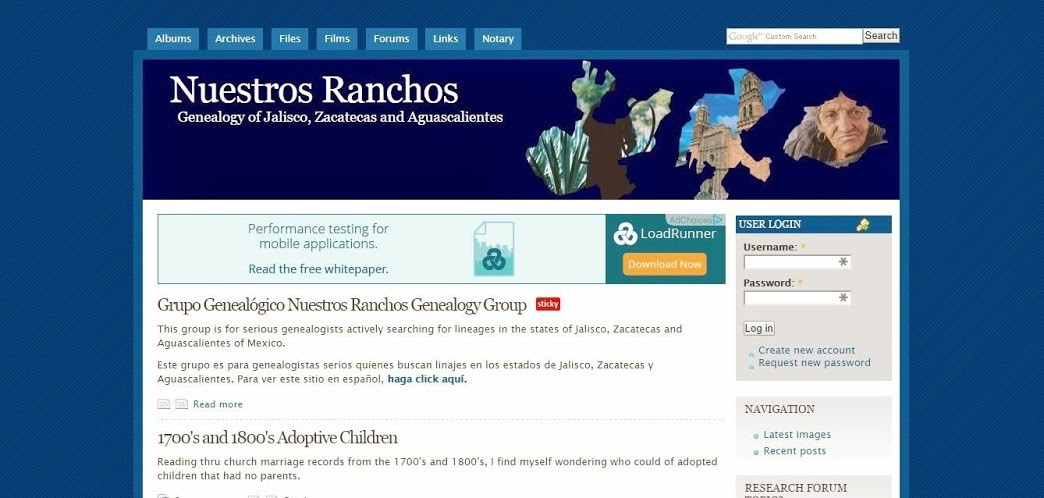 Nuestros Ranchos is a Great Website to Find Your Mexican Ancestors