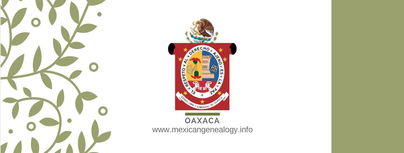 Genealogy Resources for Oaxaca