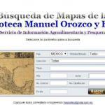 Mexican Map Search, Mapoteca Manuel Orozco y Berra