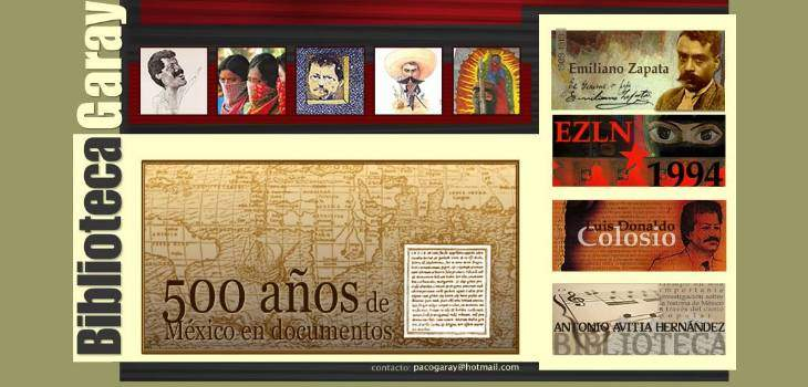 500 Years of Mexican Documents