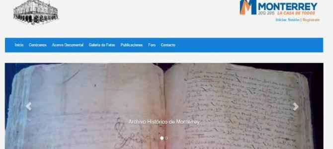 The Historical Archives of Monterrey are Now Online