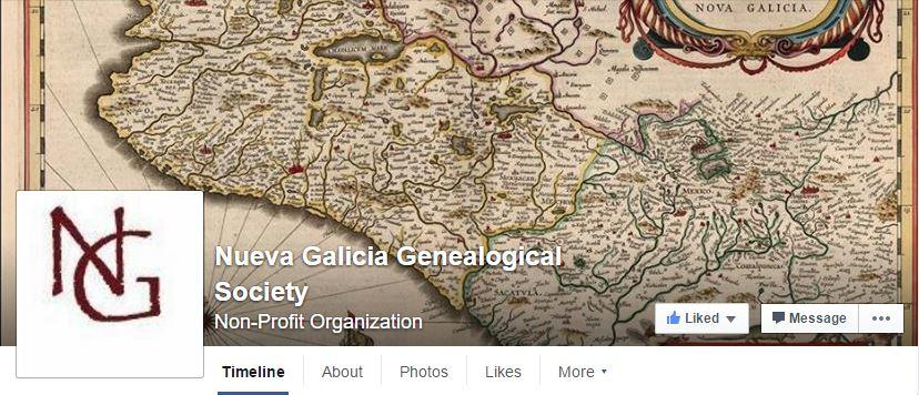 Nueva Galicia Genealogical Society Facebook Group