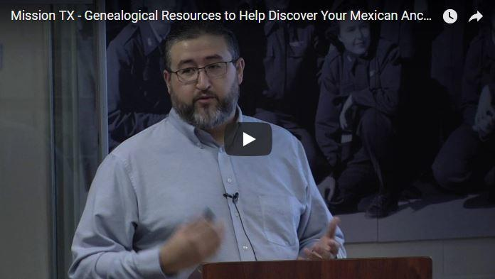 Genealogical Resources to Help Discover Your Mexican Ancestry