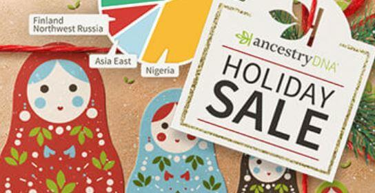 AncestryDNA Holiday Sale